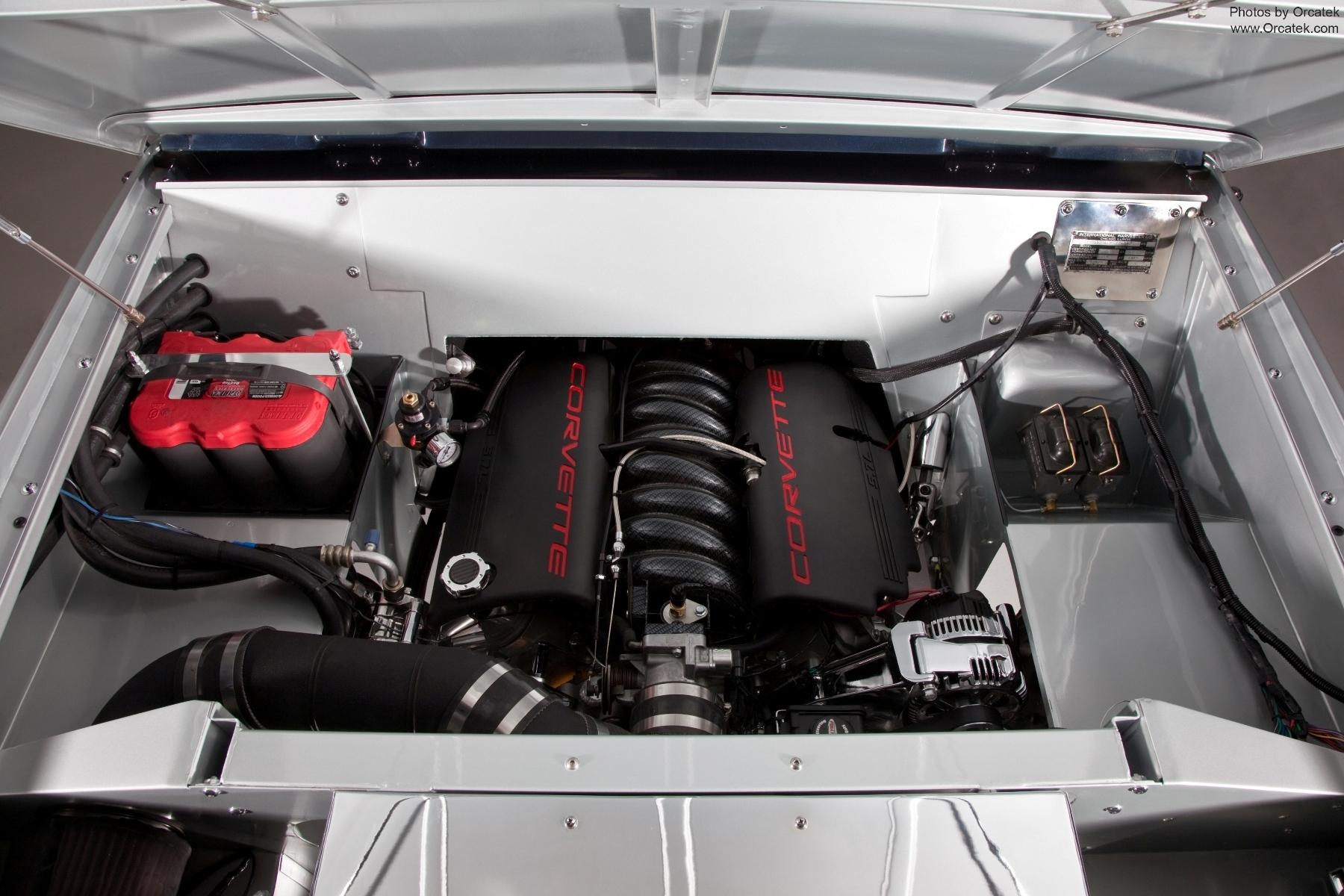 """Scout 80 """"Unbound"""" Corvette Engine, hot rod"""