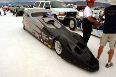 Bonneville racer dies at Speedweek 2009