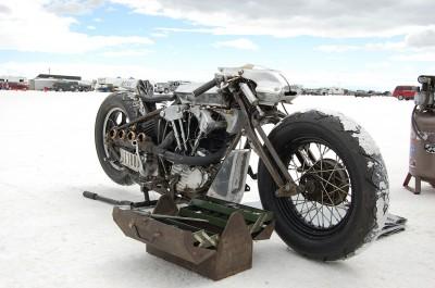 Bonneville Akira Tsukagawa's 1946 1350cc Harley Davidson