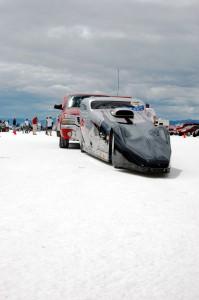 Bonneville Competition Coupe driver dies