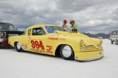 Bonneville 1953 Studebaker Coupe 394