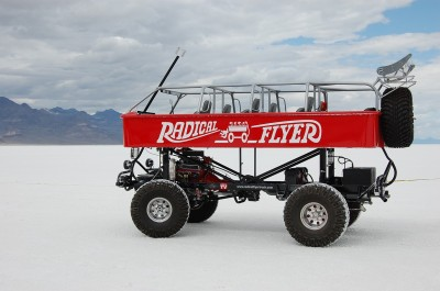 Radical Flyer monster wagon at Bonneville 2009