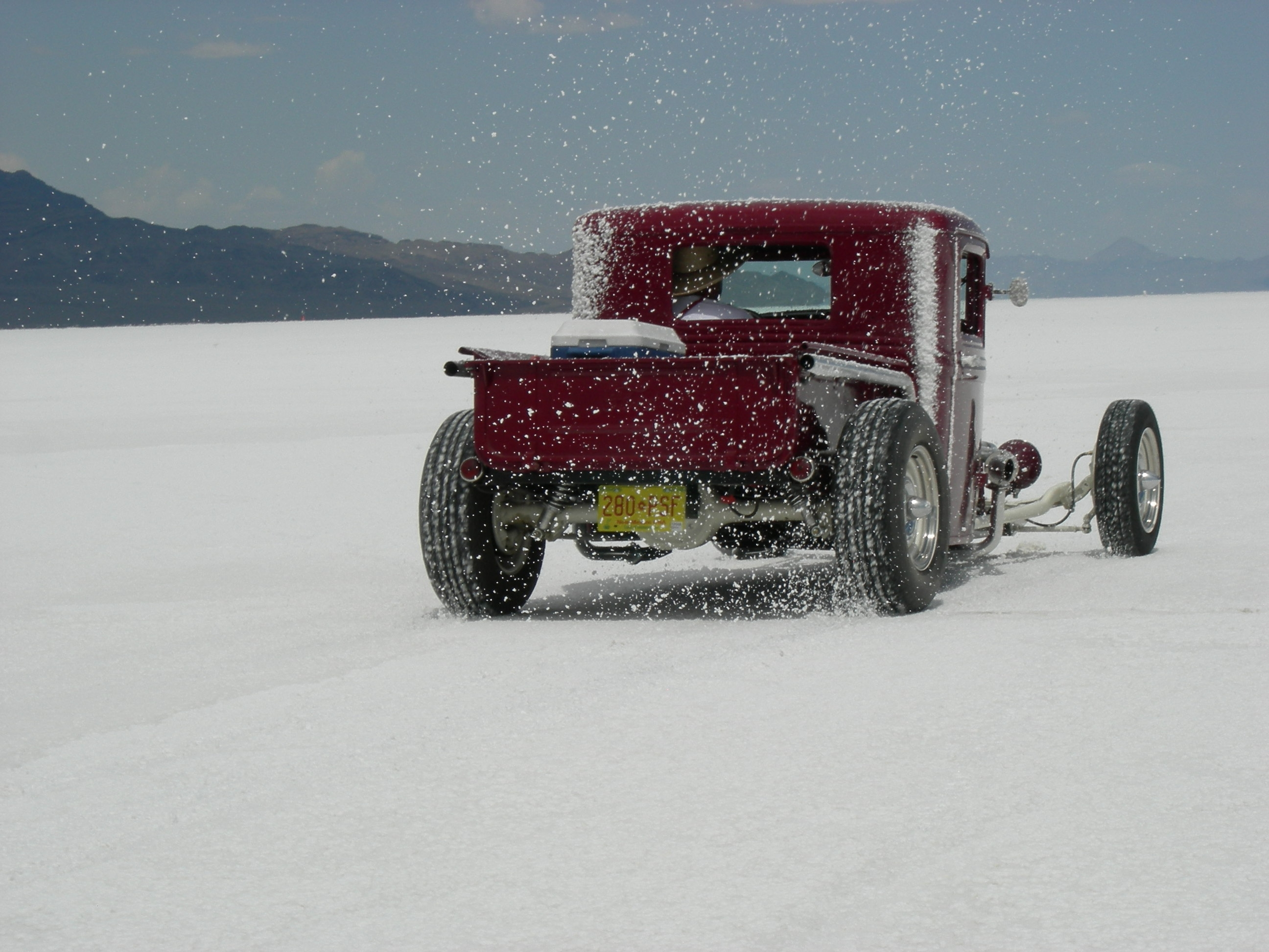 1933 Hot Rod pickup , bonneville hot rods