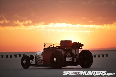 rex Schimmer's 1929 Lakes Modified roadster at Speedweek 2009 coutesy of Speedhunters.com