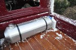 Bonneville Hot rod Spun aluminum fuel tank