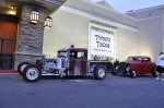 1933 Hot Rod Pickup in front of the Golden Nugget