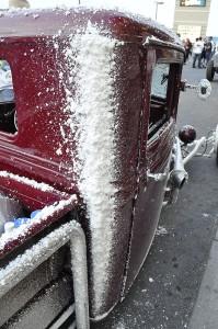 Jerry Armijo's 1933 Ford pickup full of Salt