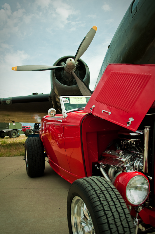 Hill Aerospace Museum Car Show