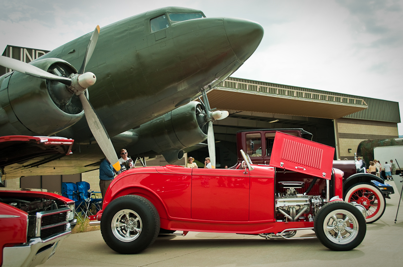 Hill Aerospace Museum Car Show