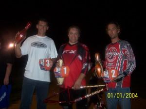 Hot Rod BMX Challenge Podium finishers