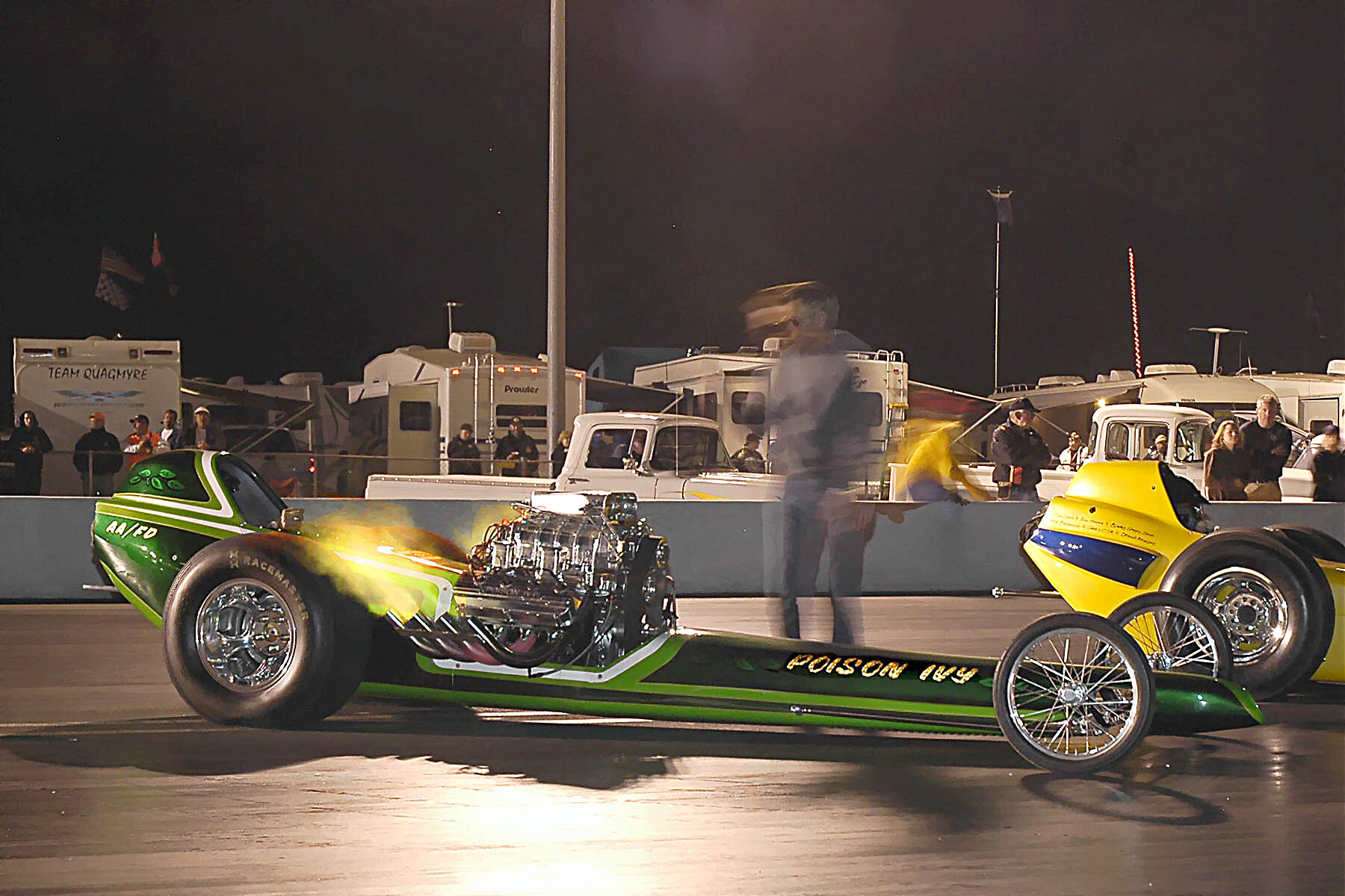 Nitromethane Cacklefest at the California Hot Rod Reunion!