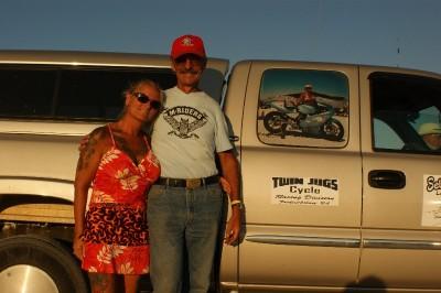 Bonneville - Jon and Nancy, organizers of Salt Talks