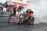 Front Engine Dragster roasting the tires