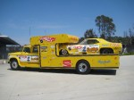 The Snakes Funny Car and Hauler