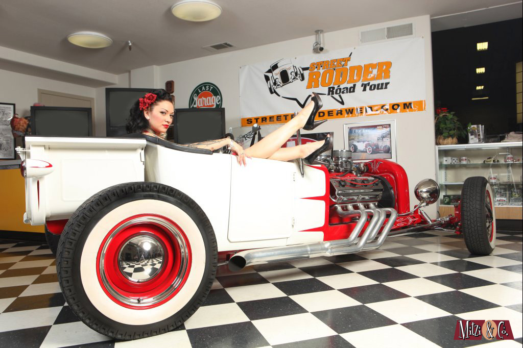 Hot Rod pinups in Sacramento