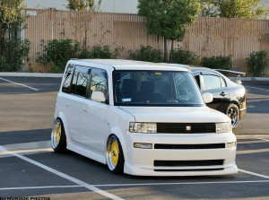 Hellaflush Scion xB tuner box