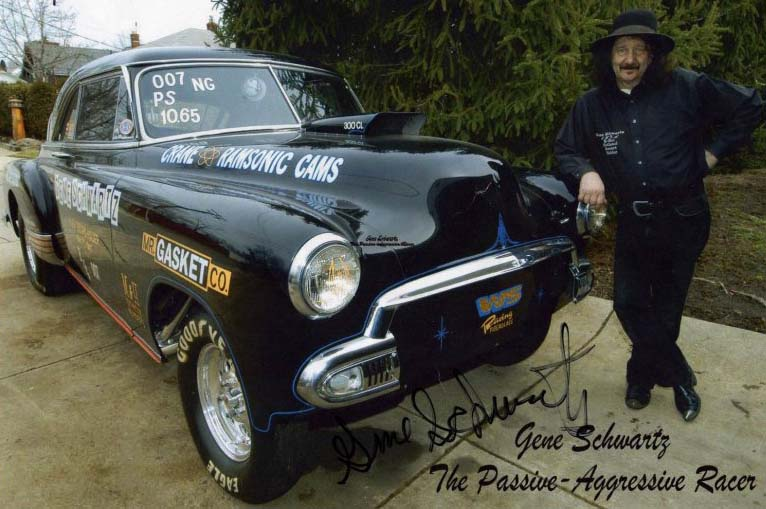Nostalgia Drags: NHRA Record holder with his 1952 Chevy
