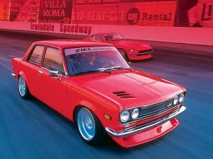 Datsun 510 at Irwindale Speedway