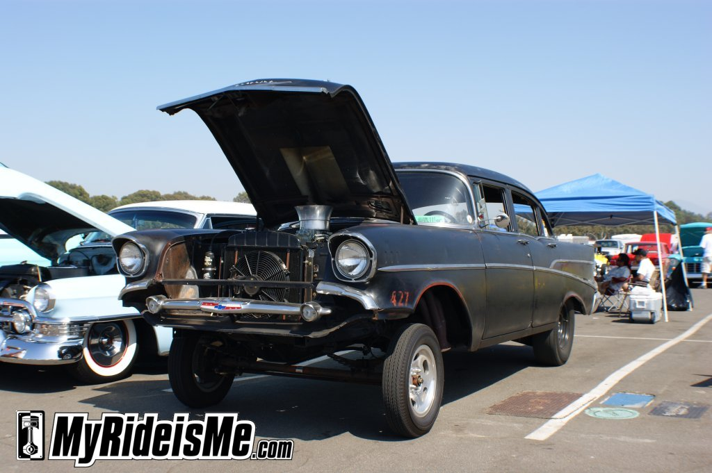 57 Chevy Gasser For Sale http://www.myrideisme.com/Blog/2009-cruisin-for-a-cure-in-picture-recap/