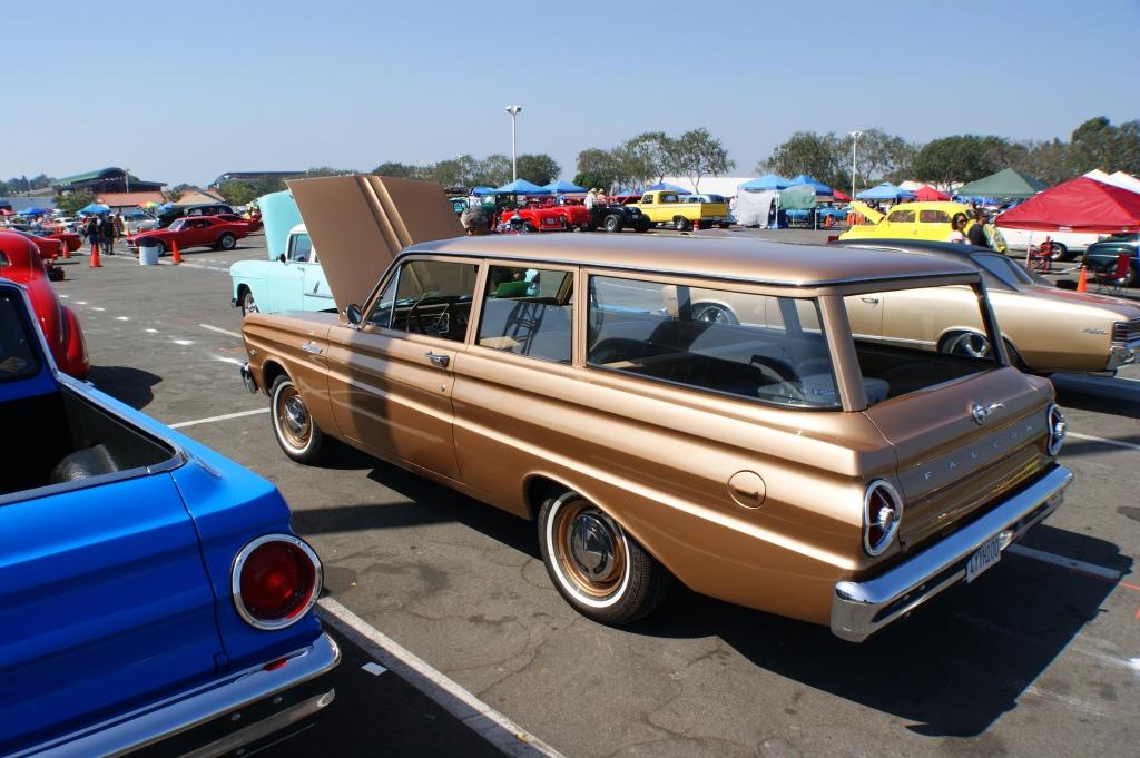1965 Ford Falcon Wagon, restored falcon wagon,two door wagon