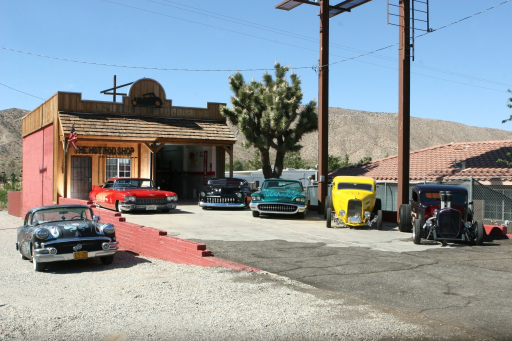 Hot rods at Yucca's The Hot Rod Shop