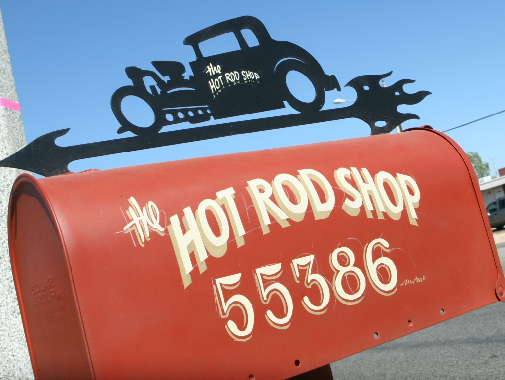 Custom Hot rod Mailbox!