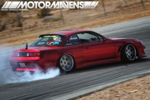 Risky Devil S14 drifting at Motor Mavens
