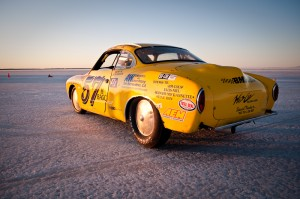 Larry's Ghia runs a destroked Rabbit engine from his wrecking yard