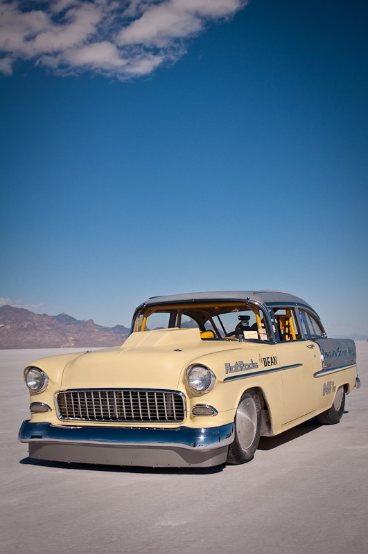Bonneville Salt Flats Beautiful 55 Chevy Myrideisme Com
