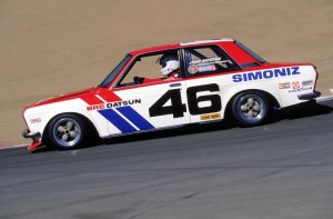 BRE #46 Datsun 510 SCCA race car