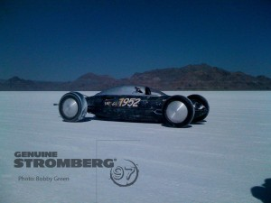Bonneville Stromberg Cars + Old Crow = Class Record