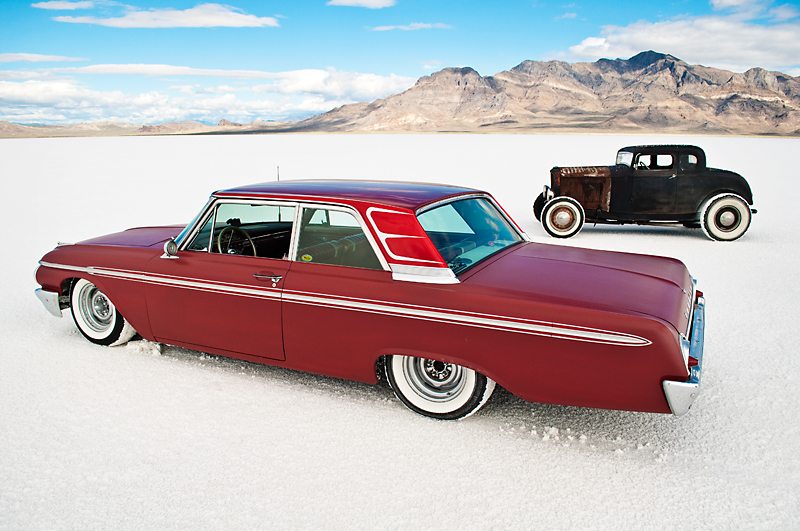 1962 Galaxie, Speedweek 2009, Bonneville, Mild Custom, Rod and Custom, Salt Flats