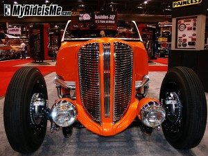 Hot Rod Roadster Pickup with 1938 Dodge Grille