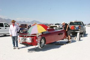 Salt Flats, Bonneville, Bonner's Bad Berkeley, U of A, 300 mph, air jacks, speedweek, fwd, twin turbo, bbc