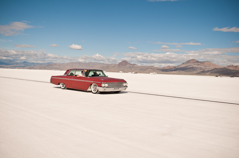 1962 Galaxie, Speed Week 2009, Mild Custom, rod and custom, Bonneville, Salt Flats