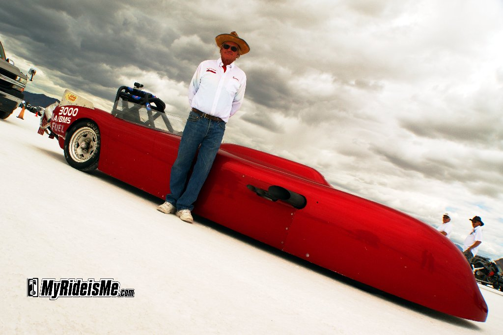 300mph on the Salt at Speed Week