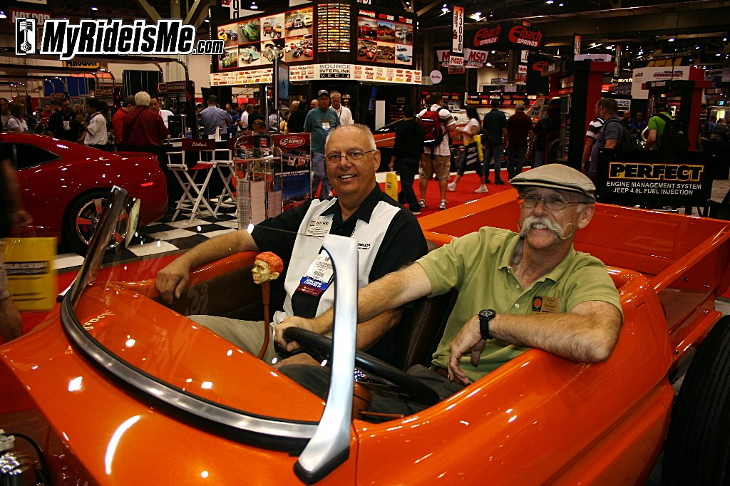 Dennis Overhosler and Dennis Gage of My Classic Car