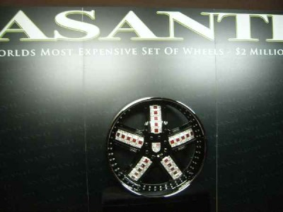 semashow pictures photos Avanti bling diamonds ruby
