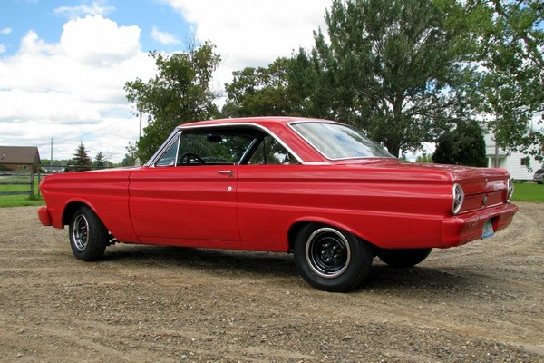 1965 Ford Falcon muscle car, restomod