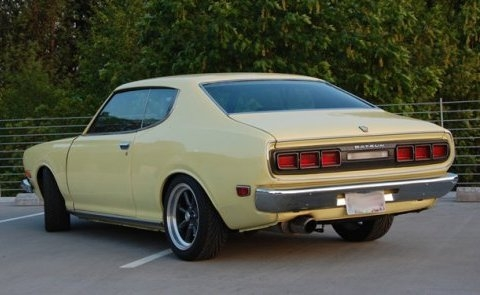1974 Datsun 610 Hardtop Coupe with KA24 Power For Sale