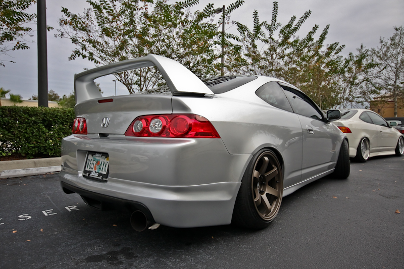 Rota 18x9.5 wheels are flush on this DC5 by Jose Guadalupe