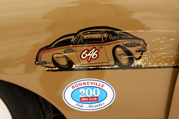 This C/CGC land speed racer shows off its hot rod art