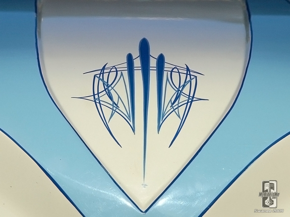 Pinstriping and Hot Rod Art at MyRideisMe