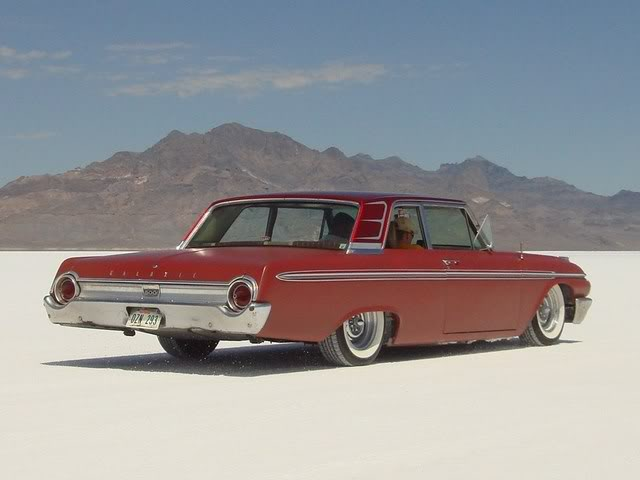 Mild Custom, Salt Flats, Bonneville, 1962 Galaxie, Speedweek
