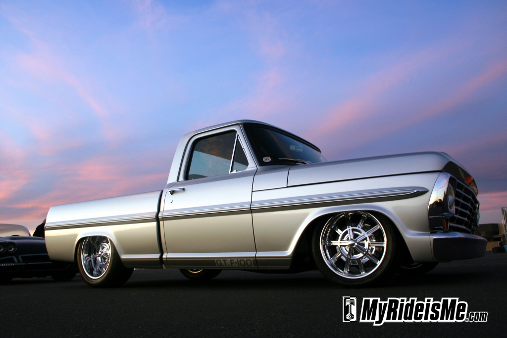 Goodguys Southwest MyRideisMe.com Member F100 truck of the year