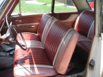metal flake, steering wheel, carpet kit, ford galaxie, original interior, mild custom