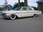1962 galaxie, before picture, air ride, white walls