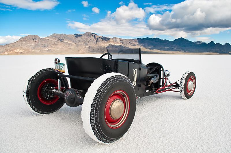 1927 Roadster at Bonneville Salt Flats