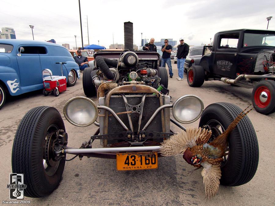 True rat style diesel exhaust