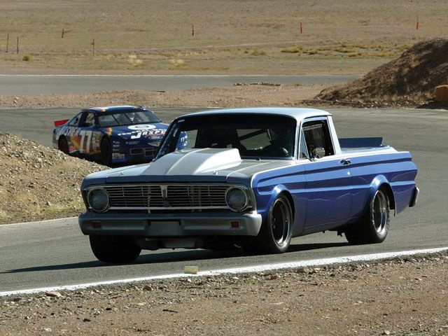 64 or 65 Falcon Ranchero SCCA race car track day
